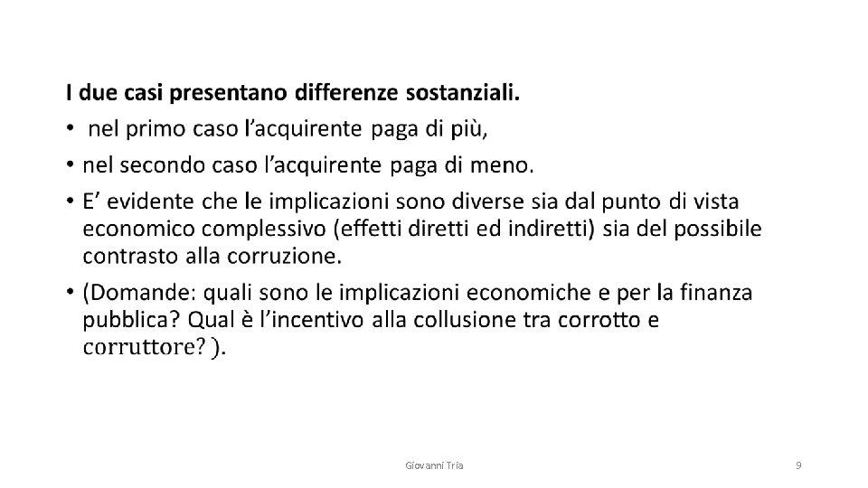 • Giovanni Tria 9