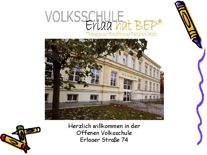 Herzlich willkommen in der Offenen Volksschule Erlaaer Straße 74
