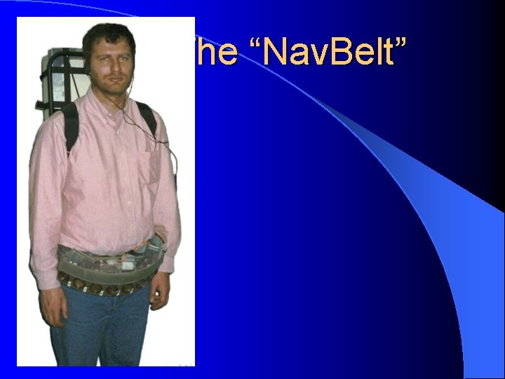 "The ""Nav. Belt"""
