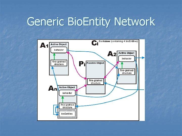 Generic Bio. Entity Network