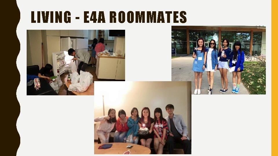 LIVING - E 4 A ROOMMATES