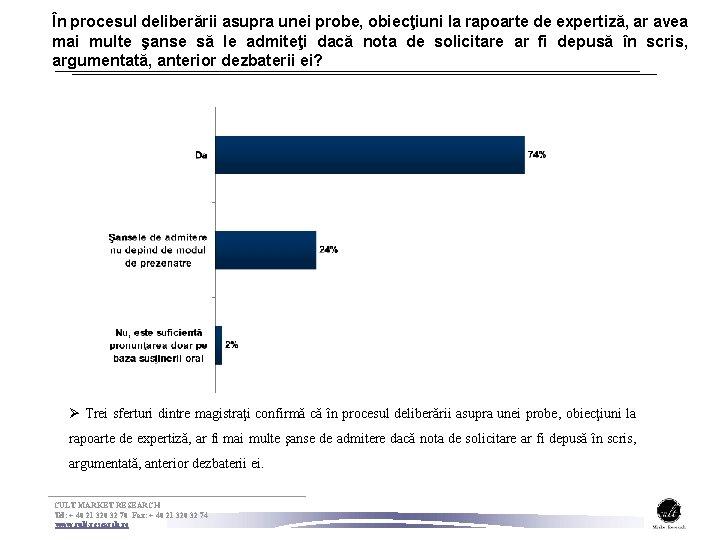 În procesul deliberării asupra unei probe, obiecţiuni la rapoarte de expertiză, ar avea mai
