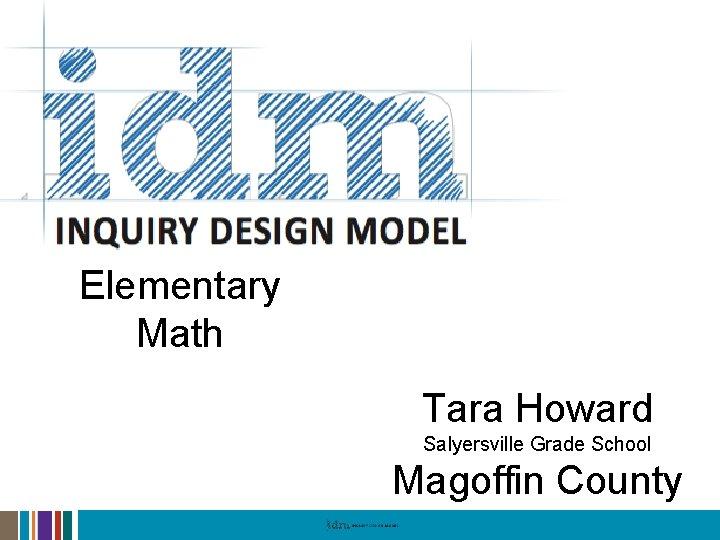 Elementary Math Tara Howard Salyersville Grade School Magoffin County