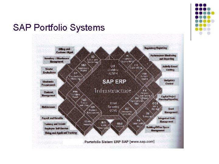 SAP Portfolio Systems