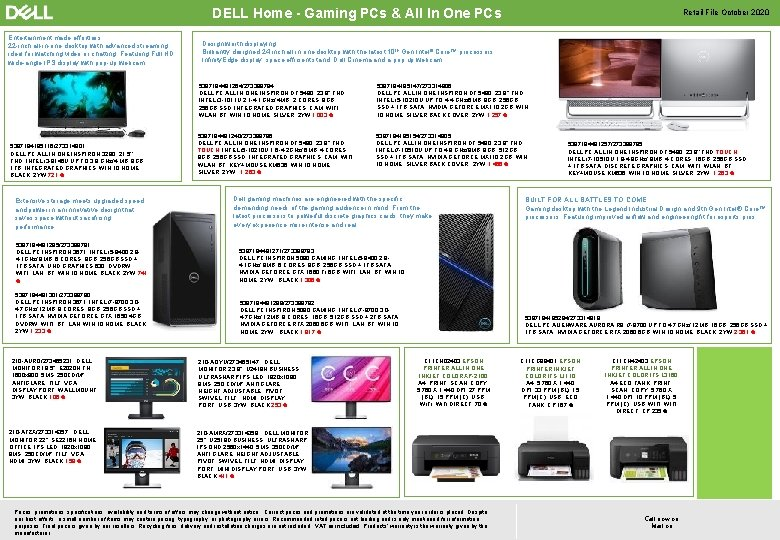 DELL Home - Gaming PCs & All In One PCs Entertainment made effortless 22