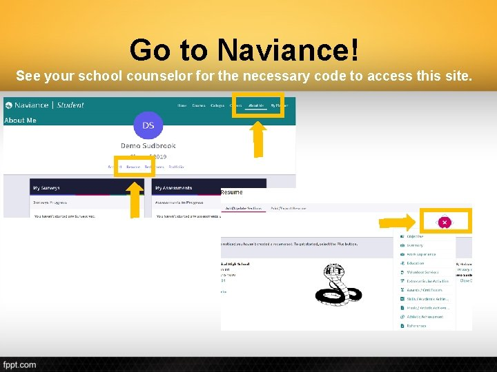 Go to Naviance! See your school counselor for the necessary code to access this
