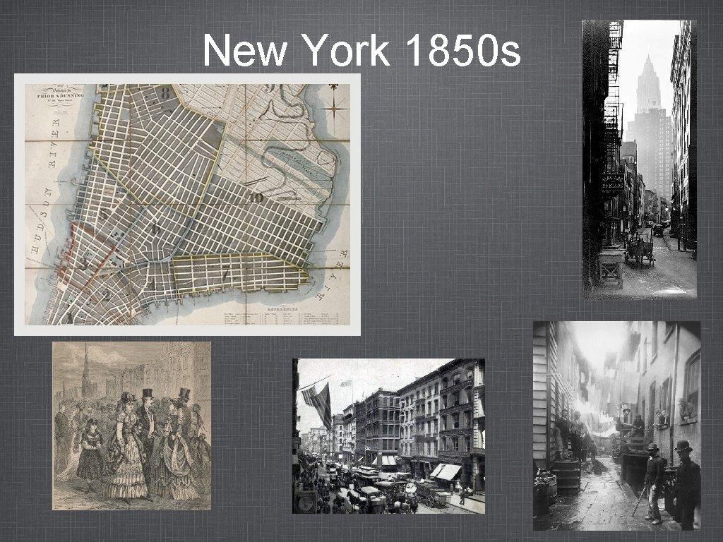 New York 1850 s