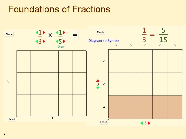 Foundations of Fractions 5