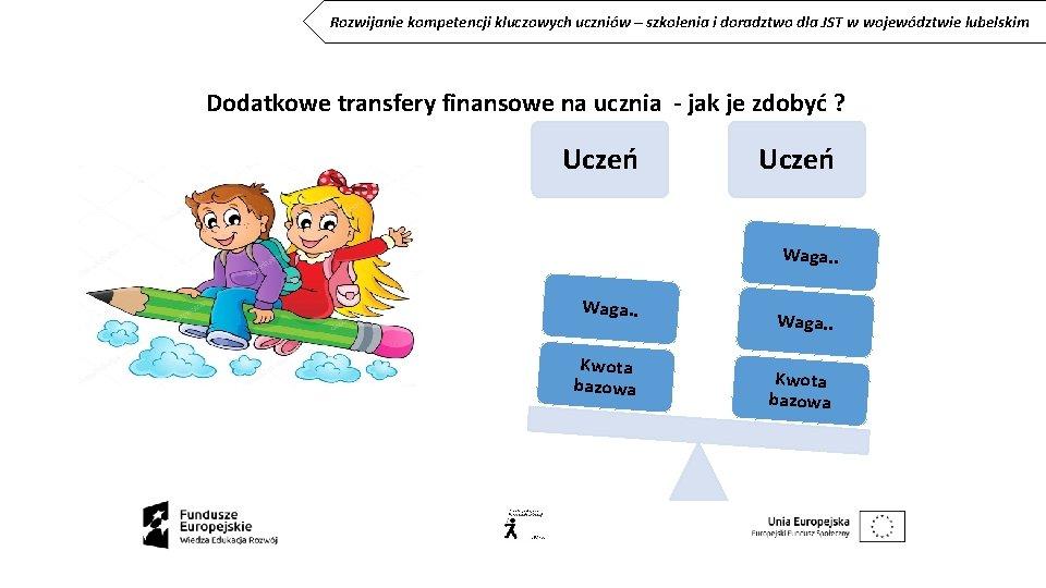 Rozwijanie kompetencji kluczowych uczniów – szkolenia i doradztwo dla JST w województwie lubelskim Dodatkowe