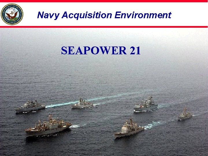 Navy Acquisition Environment SEAPOWER 21
