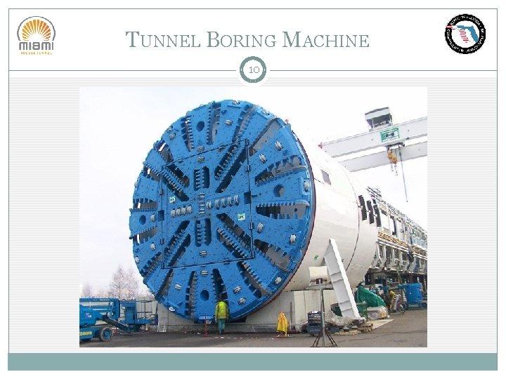 TUNNEL BORING MACHINE 10