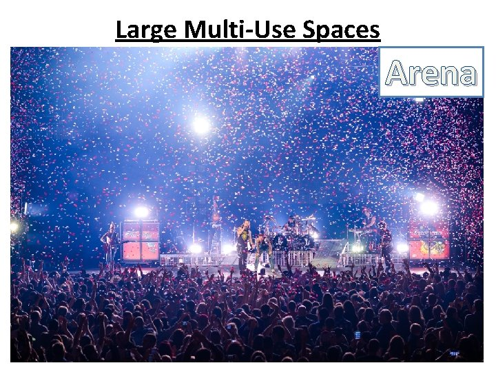 Large Multi-Use Spaces Arena