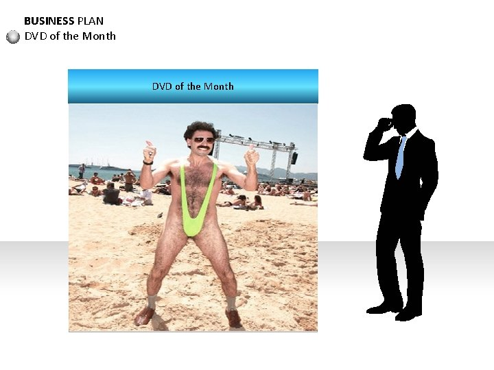 BUSINESS PLAN DVD of the Month