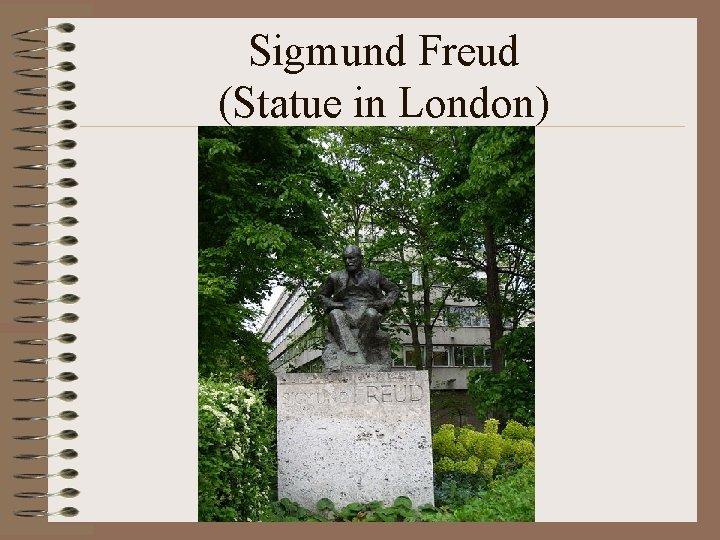 Sigmund Freud (Statue in London)