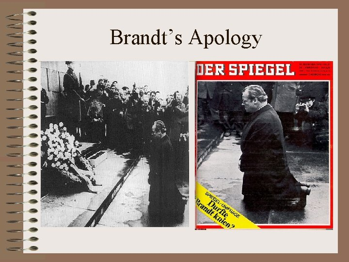 Brandt's Apology