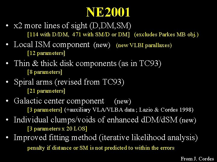 NE 2001 • x 2 more lines of sight (D, DM, SM) [114 with