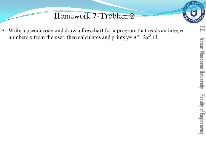 Homework 7 - Problem 2 §