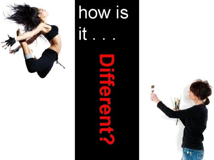 how is it. . . Different? © 2013 Artist, INC