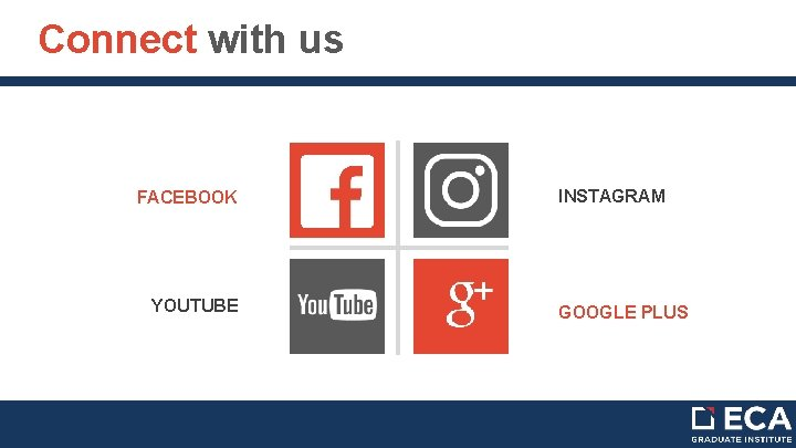 Connect with us FACEBOOK YOUTUBE INSTAGRAM GOOGLE PLUS