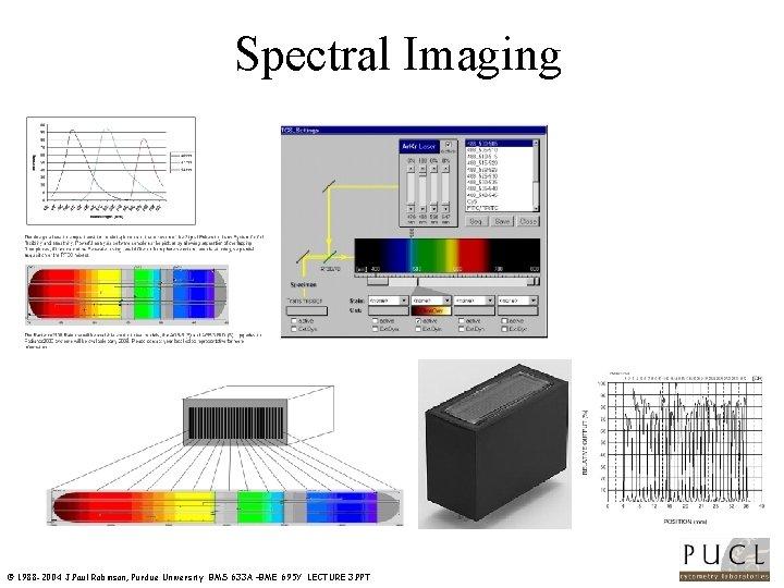 Spectral Imaging © 1988 -2004 J. Paul Robinson, Purdue University BMS 633 A –BME