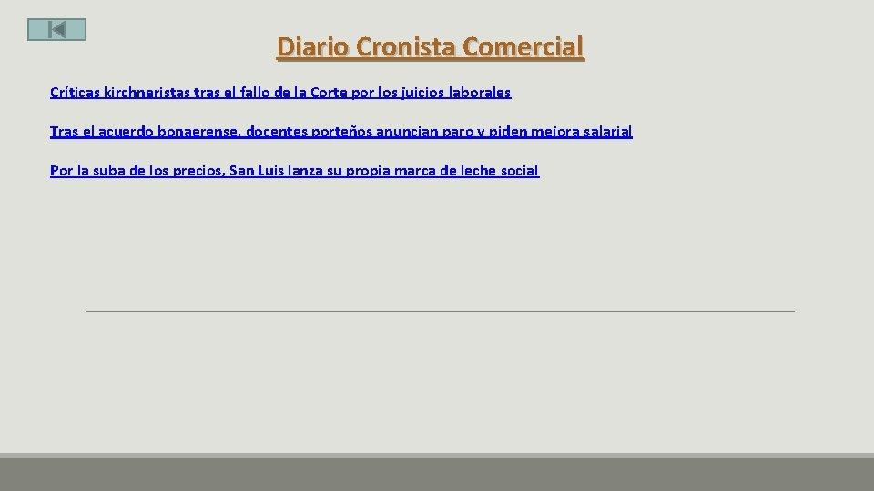 Diario Cronista Comercial Críticas kirchneristas tras el fallo de la Corte por los juicios