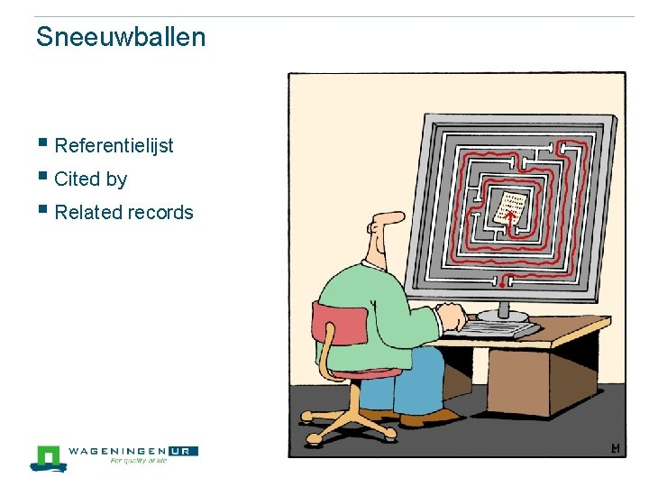 Sneeuwballen § Referentielijst § Cited by § Related records