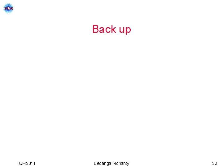 Back up QM 2011 Bedanga Mohanty 22