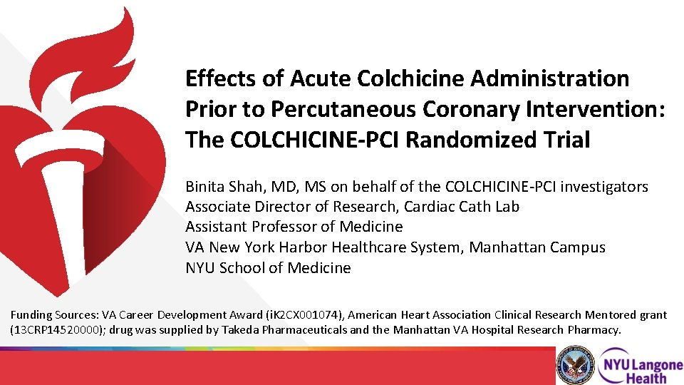 Effects of Acute Colchicine Administration Prior to Percutaneous Coronary Intervention: The COLCHICINE-PCI Randomized Trial