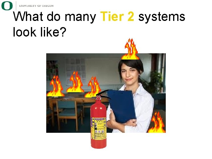 What do many Tier 2 systems look like?