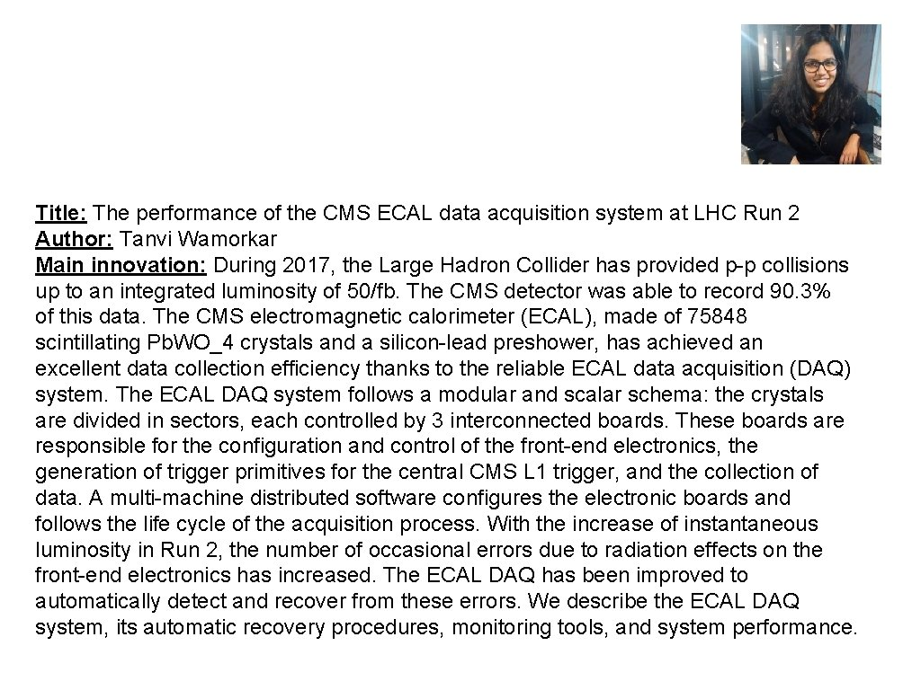 Title: The performance of the CMS ECAL data acquisition system at LHC Run 2