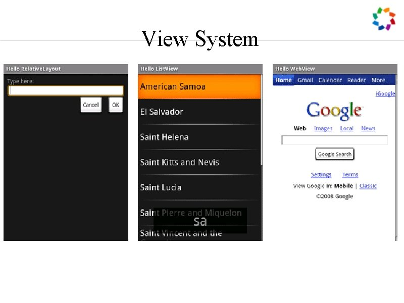 View System