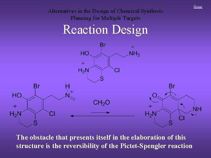 Alternatives in the Design of Chemical Synthesis Planning for Multiple Targets Reaction Design The