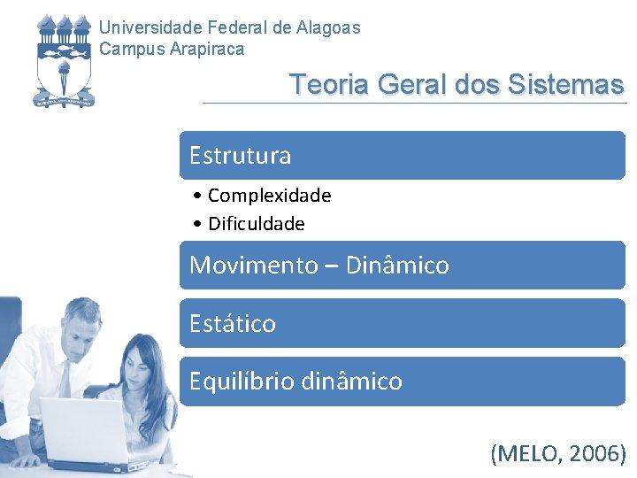 Universidade Federal de Alagoas Campus Arapiraca Teoria Geral dos Sistemas Estrutura • Complexidade •
