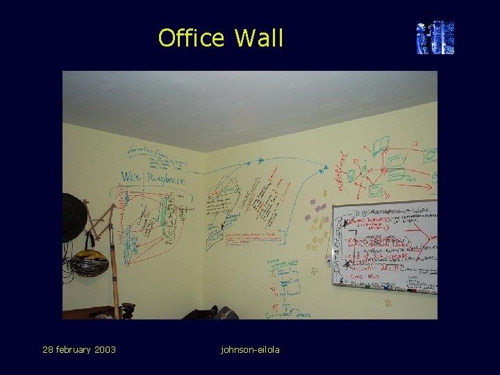 Office Wall 28 february 2003 johnson-eilola