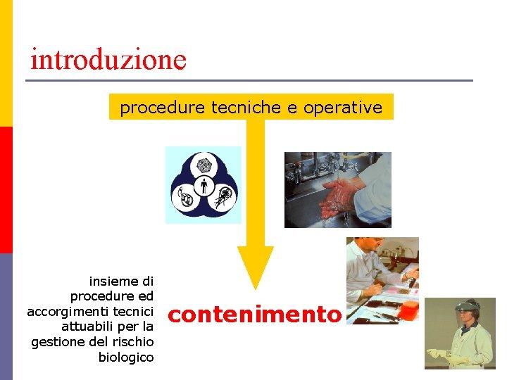 introduzione procedure tecniche e operative insieme di procedure ed accorgimenti tecnici attuabili per la