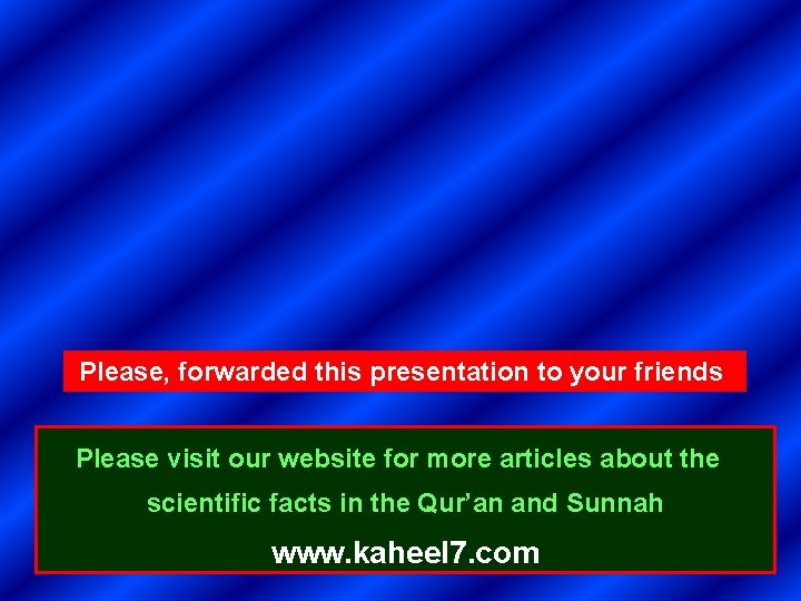 Please, forwarded this presentation to your friends Please visit our website for more articles