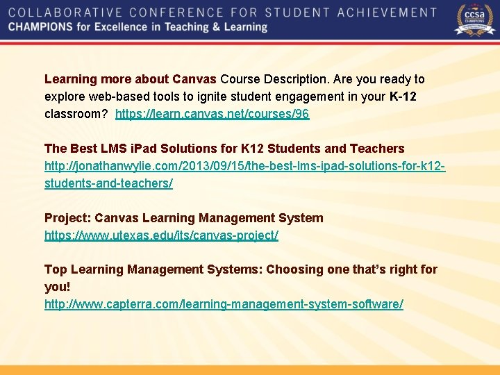 Learning more about Canvas Course Description. Are you ready to explore web-based tools to