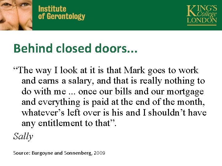 """Behind closed doors. . . """"The way I look at it is that Mark"""