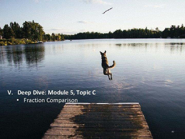 V. Deep Dive: Module 5, Topic C • Fraction Comparison 80