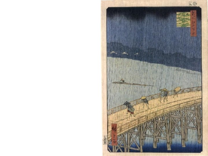 """Hiroshige's """"One hundred views of famous places of Edo"""""""