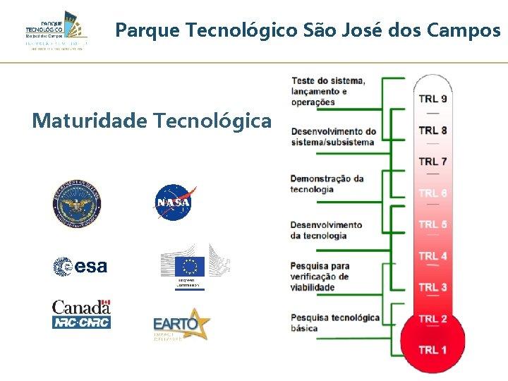 Parque Tecnológico São José dos Campos Maturidade Tecnológica