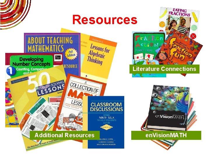 Resources Literature Connections Additional Resources en. Vision. MATH