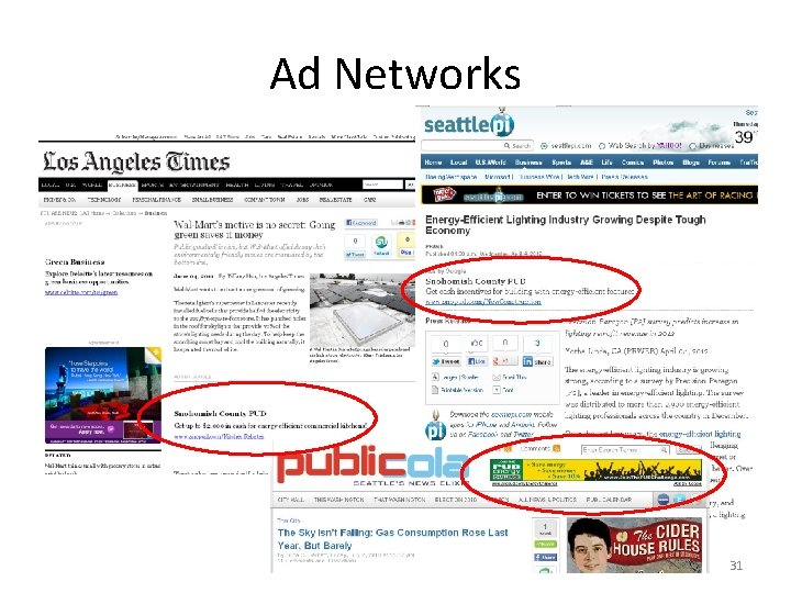 Ad Networks 31