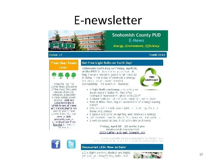 E-newsletter 37