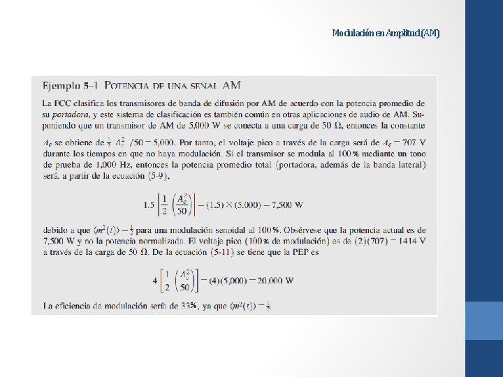 Modulación en Amplitud (AM)