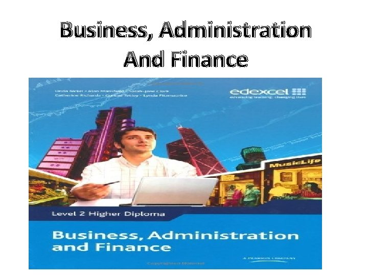 Business, Administration And Finance