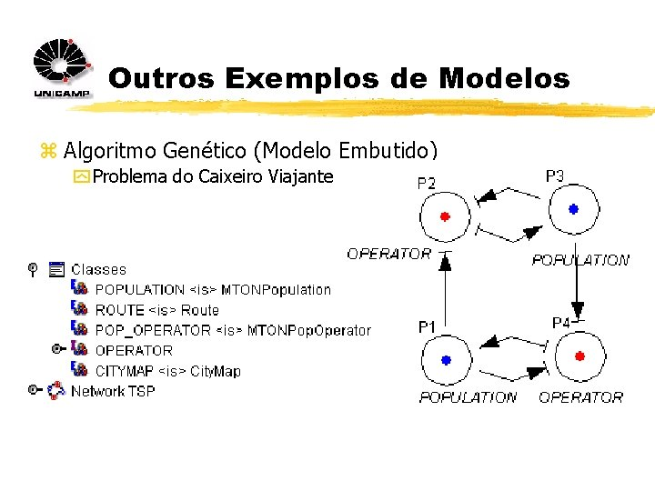 Outros Exemplos de Modelos z Algoritmo Genético (Modelo Embutido) y Problema do Caixeiro Viajante