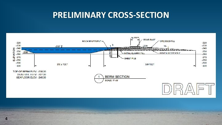 PRELIMINARY CROSS-SECTION 4