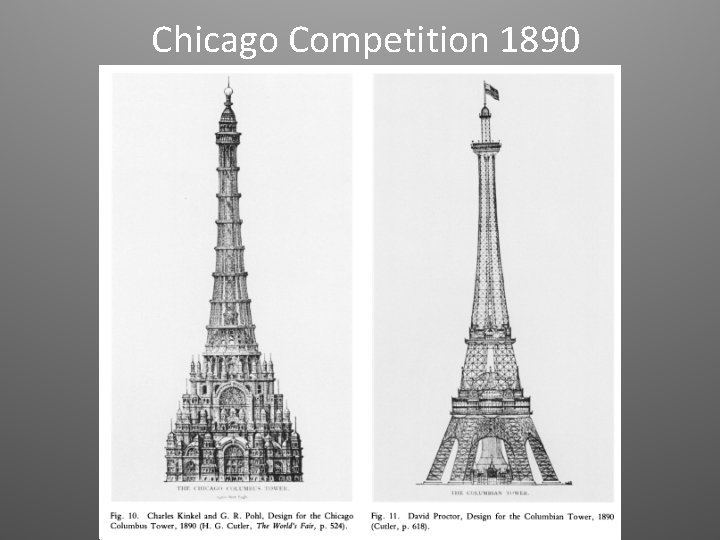Chicago Competition 1890