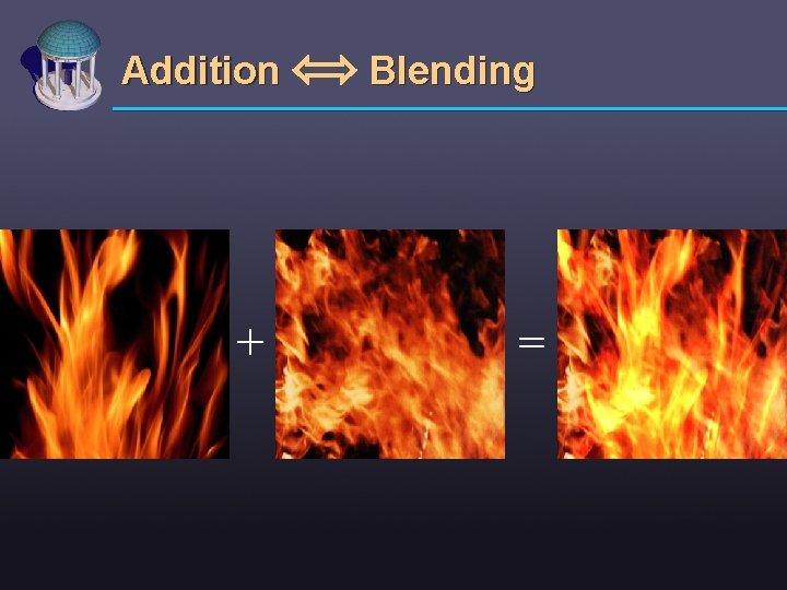Addition + Blending =